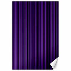 Purple Canvas 20  X 30   by Valentinaart