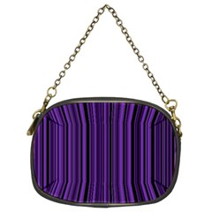 Purple Chain Purses (two Sides)  by Valentinaart