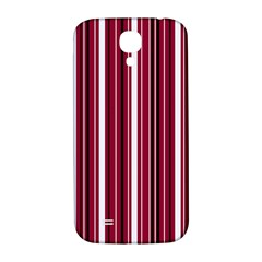 Red Lines Samsung Galaxy S4 I9500/i9505  Hardshell Back Case by Valentinaart