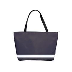 Gray Shoulder Handbags by Valentinaart