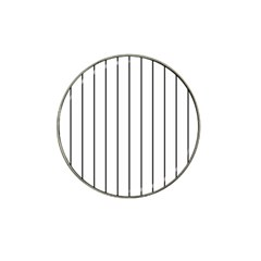 White And Black Lines Hat Clip Ball Marker (10 Pack) by Valentinaart