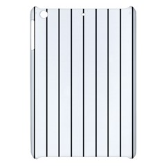 White And Black Lines Apple Ipad Mini Hardshell Case by Valentinaart