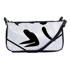 Archery Skiing Pictogram Shoulder Clutch Bags by abbeyz71