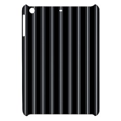Black and white lines Apple iPad Mini Hardshell Case by Valentinaart