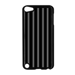 Black And White Lines Apple Ipod Touch 5 Case (black) by Valentinaart