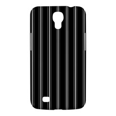 Black And White Lines Samsung Galaxy Mega 6 3  I9200 Hardshell Case by Valentinaart