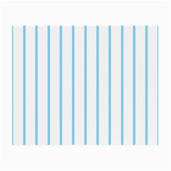 Blue Lines Small Glasses Cloth (2 Side) by Valentinaart