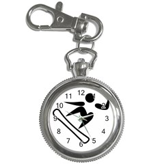 Snowboarding Pictogram  Key Chain Watches by abbeyz71