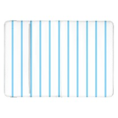 Blue Lines Samsung Galaxy Tab 8 9  P7300 Flip Case by Valentinaart