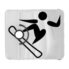 Snowboarding Pictogram  Galaxy S3 (flip/folio) by abbeyz71