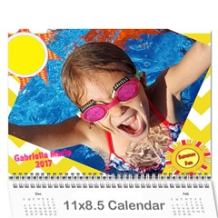 2017 Cal1 By Annie   Wall Calendar 11  X 8 5  (12 Months)   Xsmknjs9wpo2   Www Artscow Com Cover