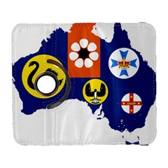 Flag Map Of States And Territories Of Australia Galaxy S3 (flip/folio) by abbeyz71