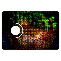 Radar Kaleidoscope Pattern Kindle Fire Hdx Flip 360 Case by Amaryn4rt