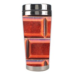 Portugal Ceramic Tiles Wall Stainless Steel Travel Tumblers by Amaryn4rt