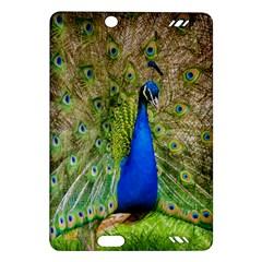 Peacock Animal Photography Beautiful Amazon Kindle Fire Hd (2013) Hardshell Case by Amaryn4rt