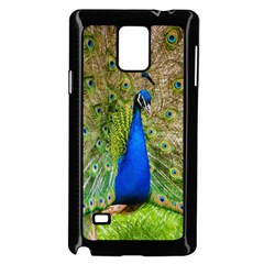 Peacock Animal Photography Beautiful Samsung Galaxy Note 4 Case (black) by Amaryn4rt