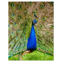 Peacock Animal Photography Beautiful Drawstring Bag (large) by Amaryn4rt