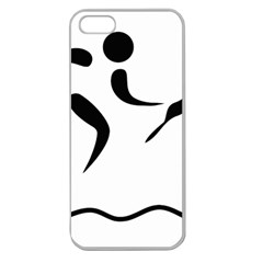 Assault Course Pictogram Apple Seamless Iphone 5 Case (clear) by abbeyz71