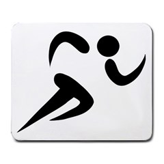 Athletics Pictogram Large Mousepads by abbeyz71