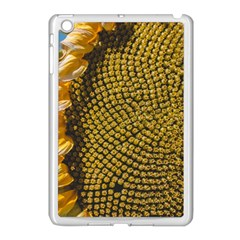 Sunflower Bright Close Up Color Disk Florets Apple Ipad Mini Case (white) by Amaryn4rt
