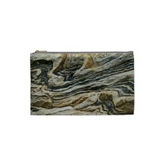 Rock Texture Background Stone Cosmetic Bag (small)  by Amaryn4rt