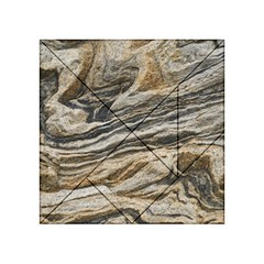 Rock Texture Background Stone Acrylic Tangram Puzzle (4  X 4 ) by Amaryn4rt