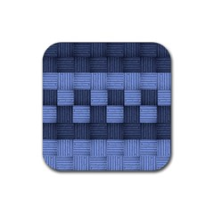 Texture Structure Surface Basket Rubber Square Coaster (4 Pack)  by Amaryn4rt