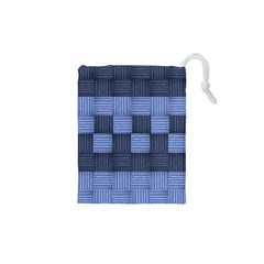 Texture Structure Surface Basket Drawstring Pouches (xs)  by Amaryn4rt