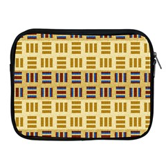 Textile Texture Fabric Material Apple Ipad 2/3/4 Zipper Cases by Amaryn4rt