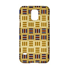 Textile Texture Fabric Material Samsung Galaxy S5 Hardshell Case  by Amaryn4rt