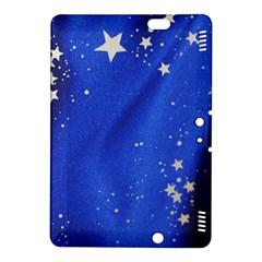 The Substance Blue Fabric Stars Kindle Fire Hdx 8 9  Hardshell Case