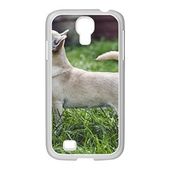Chihuahua Full Samsung GALAXY S4 I9500/ I9505 Case (White) by TailWags