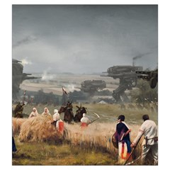 Scythe Big Bag Faction 3 By Sims   Drawstring Pouch (large)   4h9672vnfxe4   Www Artscow Com Back