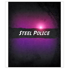 Neuroshima Hex   Steel Police By Rom   Drawstring Pouch (medium)   8345mdw8vwey   Www Artscow Com Back
