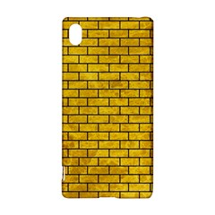 Brick1 Black Marble & Yellow Marble (r) Sony Xperia Z3+ Hardshell Case by trendistuff