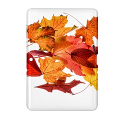 Autumn Leaves Leaf Transparent Samsung Galaxy Tab 2 (10 1 ) P5100 Hardshell Case  by Amaryn4rt