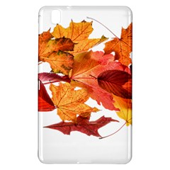 Autumn Leaves Leaf Transparent Samsung Galaxy Tab Pro 8 4 Hardshell Case by Amaryn4rt
