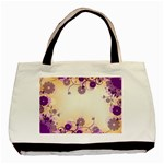 Background Floral Background Basic Tote Bag Front