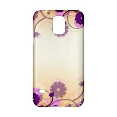 Background Floral Background Samsung Galaxy S5 Hardshell Case  by Amaryn4rt