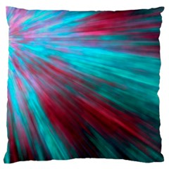Background Texture Pattern Design Large Flano Cushion Case (one Side) by Amaryn4rt