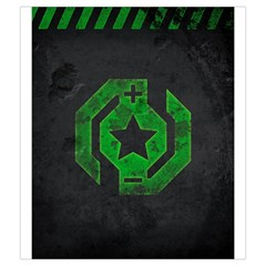 Neuroshima Hex   The Outpost By Rom   Drawstring Pouch (medium)   Extjei4v3k0p   Www Artscow Com Front