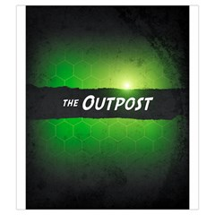 Neuroshima Hex   The Outpost By Rom   Drawstring Pouch (medium)   Extjei4v3k0p   Www Artscow Com Back