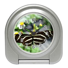 Butterfly #22 Travel Alarm Clocks by litimages