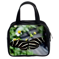 Butterfly #22 Classic Handbags (2 Sides) by litimages