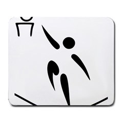 Aéroball Pictogram Large Mousepads by abbeyz71
