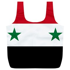 Flag Of Syria Full Print Recycle Bags (l)  by abbeyz71