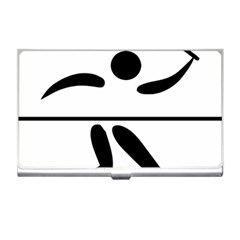 Badminton Pictogram Business Card Holders by abbeyz71