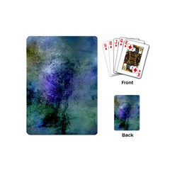Background Texture Structure Playing Cards (mini)  by Amaryn4rt