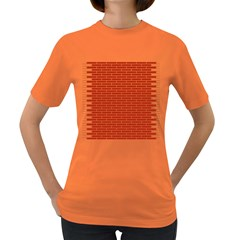 Brick Lake Dusia Texture Women s Dark T Shirt by Amaryn4rt