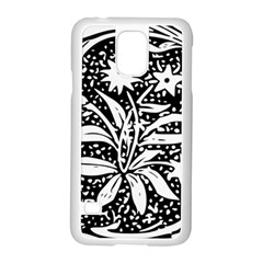 Decoration Pattern Design Flower Samsung Galaxy S5 Case (white) by Amaryn4rt